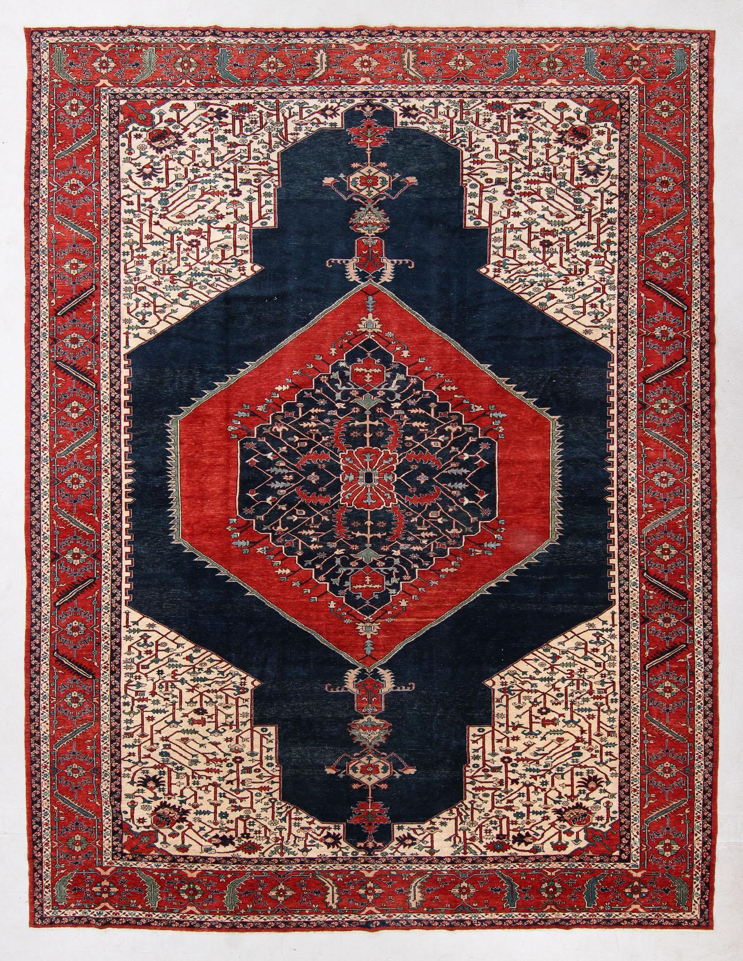Fine Vintage Serapi Rug, Turkey, 11'7'' x 15'2''