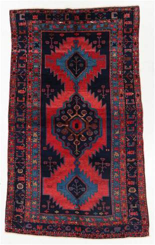 Large Kazak Rug, Caucasus, Early 20th C., 5'11'' x