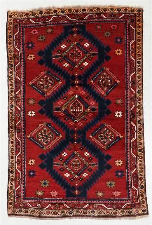 Kazak Rug, Caucasus, Early 20th C., 4'7'' x 7'2''