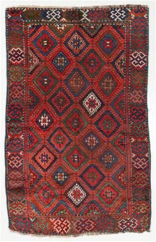 East Anatolian Kurd Yuruk Rug, Turkey, 19th C., 3'8'' x