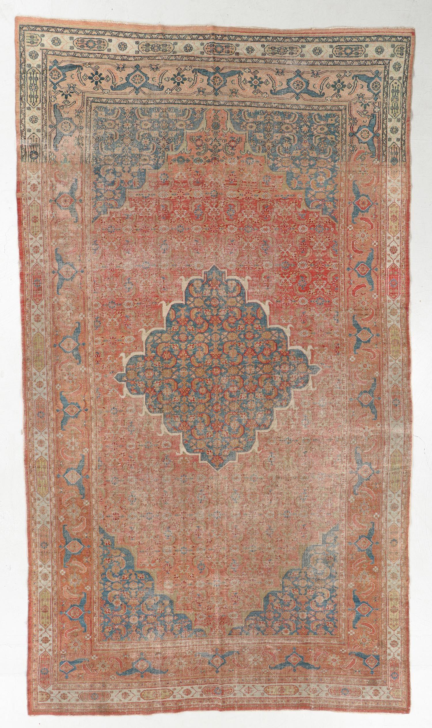 Dorokhsh Rug, Persia, Late 19th C., 6'3'' x 11'2''