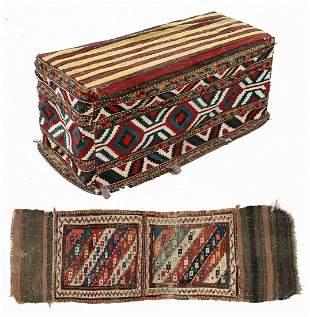 Two Antique Caucasian Weavings