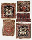 Group of 5 Antique Persian and Turkish Weavings
