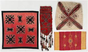 Four Central Asian and Syrian Ethnographic Textiles