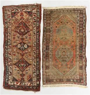 Two Bidjar Rugs, Persia, 19th C.
