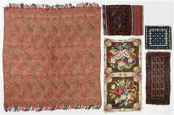Mixed Lot of Estate Weavings