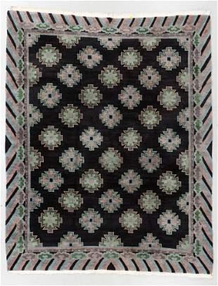 Vintage Inner Asia Tibetan Rug, Nepal, Nepal, 8'0'' x