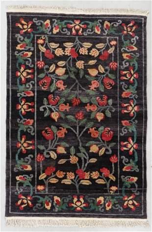 Vintage Inner Asia Tibetan Rug, Nepal, Nepal, 6'0'' x