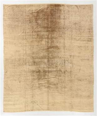 "Fine Modern Silk Velvet Rug, Thailand, 8'10"" x 10'7"""