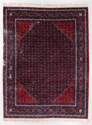 West Persian Rug, Late 20th C., 9'1'' x 12'2''