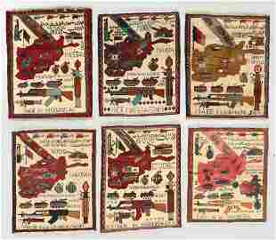 Six Post 9-11 Afghan War Rugs