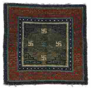 Meditation Rug, Tibet, Late 19th C.