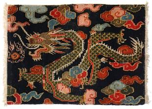 Dragon Rug, Tibet, Late 19th C.
