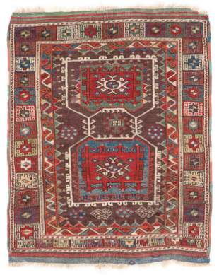 Bergama Rug, Western Anatolia, Mid-19th C.