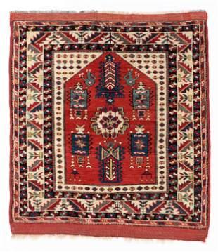 Bergama Prayer Rug, Western Anatolia, Mid-19th C.