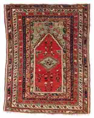 Kirshehir or Savak Prayer Rug, Central Anatolia, First