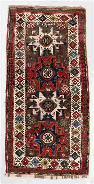 Kazak Rug, Caucasus, Last Quarter 19th C.