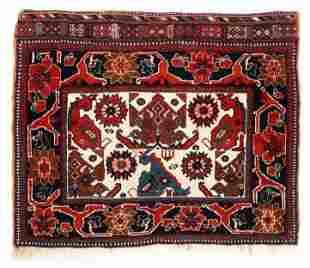 Afshar Bagface, Southeast Persia, Last Quarter 19th c.