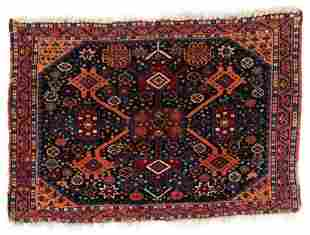Afshar Large Bagface, Southeast Persia, Ca. 1875