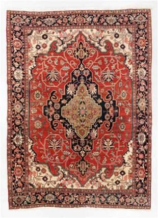 Serapi Carpet, Western Persia, Circa 1900, 7'9'' x