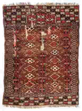 Chodor Prayer Rug, Turkmenistan, First Half 19th C.