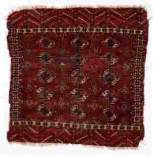 Tekke Small Rug, Turkmenistan, First Half 19th C.