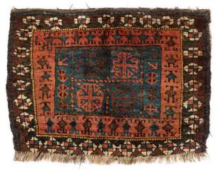Baluch Bagface, East Persia/West Afghanistan, Ca. 1900