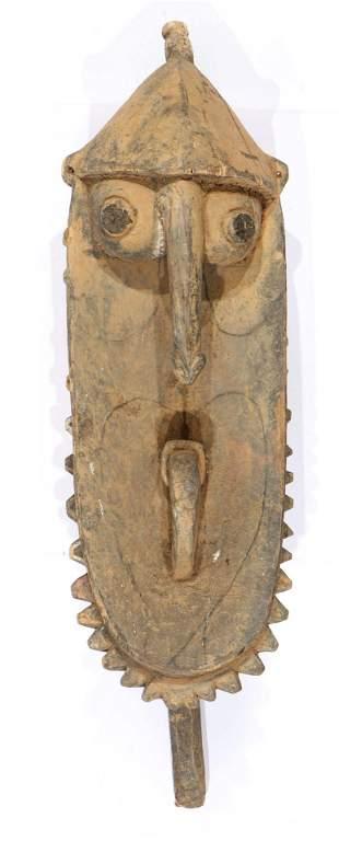Large Old Yena Sculpture Sepik River