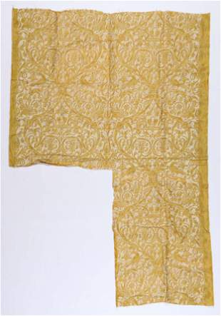 Fortuny Stamped Fabric