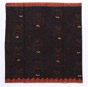 Indonesian Batik Skirt, Java, early 20th C.