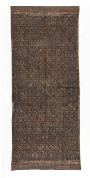 Indonesian Batik Skirt, Jambi, Sumatra, early 20th C.