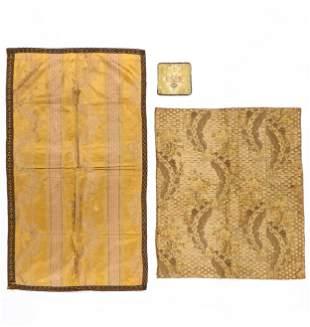 Group of Three 18th/19th C. European Textiles