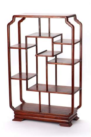 """30"""" Chinese Open Display Cabinet"""