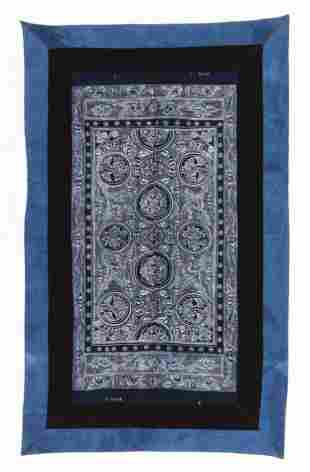 Outstanding Miao Hand Drawn Batik Blanket Cover