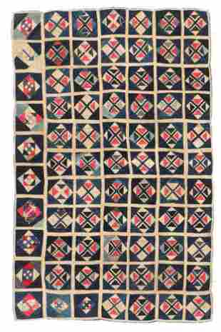 Buyi Applique Blanket Center Panel, S. China, early