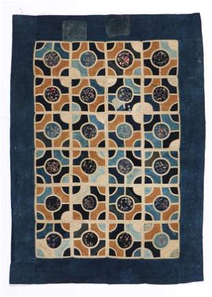 Buyi Applique Blanket, S. China, early 20th Century