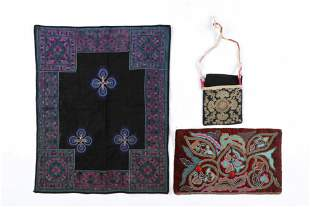 Three Chinese Hill Tribe Textiles