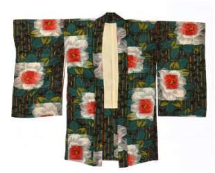 Antique Japanese Woman's Haori (over kimono)