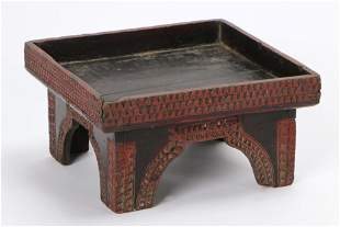Large Cambodian Betel Nut Presentation Tray, early 20th