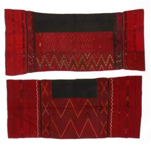 Two Kachin Skirts, Burma, early to mid 20th c.