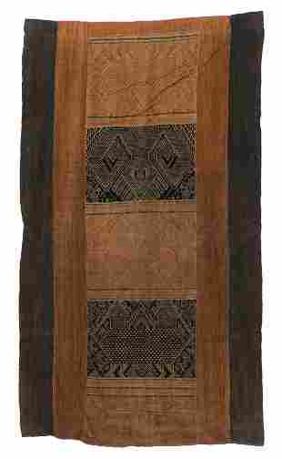 Laotian Woven Cotton Hanging, c. 1900