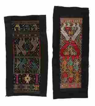 Two Antique Tai Lao Textiles