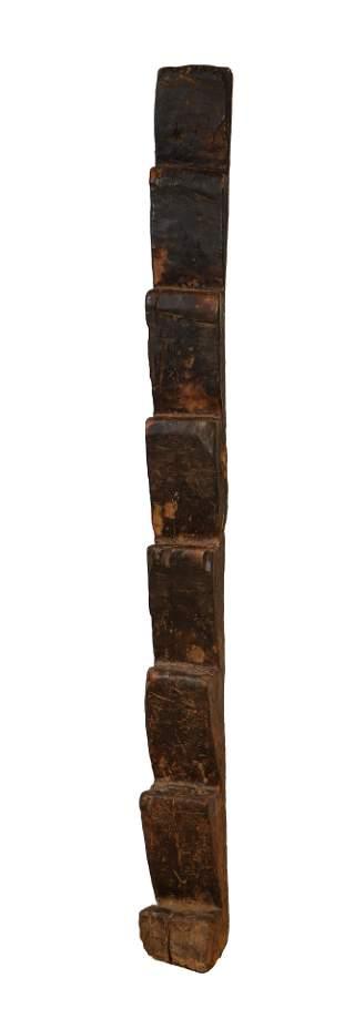 Fine Antique Nepalese/Tibetan Ladder, 19th Century.