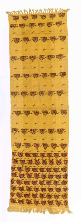 Antique Himalayan Finely Woven Wool Shawl