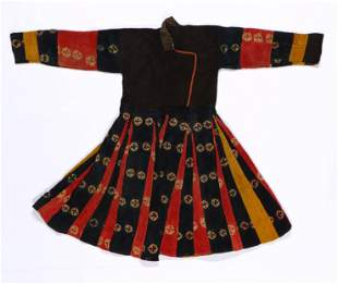 Tibetan/Ladakhi Chang Tang Woman's Sul-ma Robe