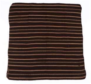 Tibetan Yak and Sheep's Wool Blanket, early 20th C.