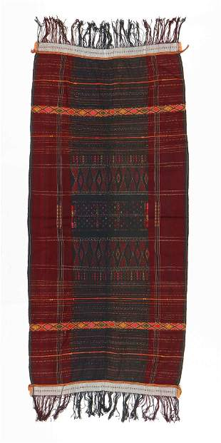 Indian or Indonesian Textile