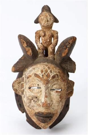 African Igbo Wawa Mask, Nigeria, 19th/20th C.