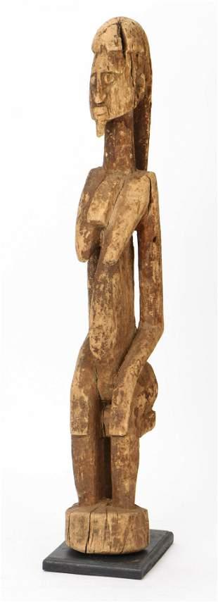 African Dogon Female Ancestor Figure, Mali