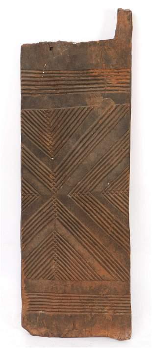 African Igbo Peoples Carved Door, Nigeria